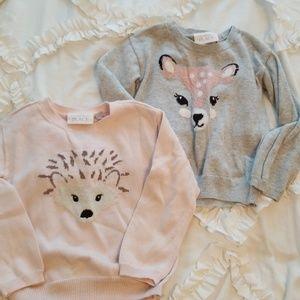 Girl's 3T sweater bundle